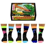 United Oddsocks Dinosocks Mens Novelty Socks