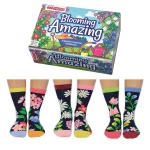 United Oddsocks Blooming Amazing Flower Themed Women's Socks