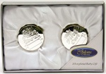 Widdop Gifts Silver Plated First Tooth & First Curl Boxes