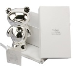 Twinkle Twinkle Silver Plated Teddy Money Box