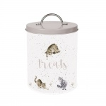 Wrendale Designs Grey Illustrated Cat Treat Tin