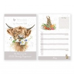 Wrendale Designs Country Design Family Calendar 2020