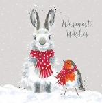 Wrendale Designs Snow Angels Luxury Boxed Christmas Cards