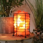 Widdop Himalayan Basket of Salt Rock Lamp