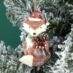 Woodland Fox Christmas Tree Decoration