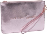CGB Giftware Pink Metallic Live, Love, Sparkle Beauty Bag