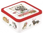 Wrendale Designs A Dog's Life Christmas Tin