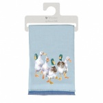 Wrendale Designs Duck Design Winter Scarf with Gift Bag