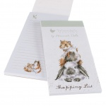 Wrendale Designs 'Piggy In The Middle' Magnetic Shopping List Pad
