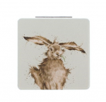 Wrendale designs Hare Compact Mirror With Gift Box