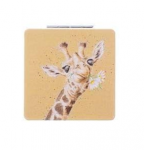 Wrendale Designs Giraffe Compact Mirror With Gift Box