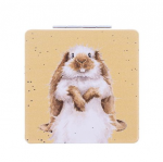 Wrendale designs Bunny Compact Mirror With Gift Box