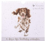 Wrendale Stationery Everlasting Birthday Calendar - A Dog's Life