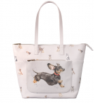 Wrendale Designs Hare Illustrated Dog Everyday Bag