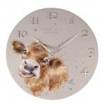Wrendale Designs Wall Clock Mooo Cow Design
