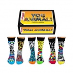 United Oddsocks You Animal Mens Animal Print Socks