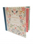 Art File Pretty Floral Birds Address and Birthday Dates Book