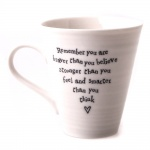 East of India You Are Braver Than You Believe Mug With Gift Box