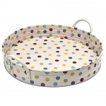 Emma Bridgewater Polka Dot Design Round Serving Tray