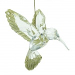 Gisela Graham Gold Humming Bird Christmas Tree Decoration