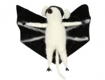 Gisela Graham Wool Mix Halloween Bat Mouse