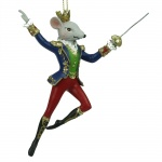 Gisela Graham King Rat Nutcracker Christmas Tree Decoration
