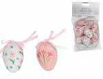 Gisela Graham Easter Decorations - Pink And White Floral