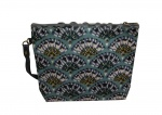 Gisela Graham Pretty Patterned Cosmetic Bag