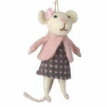 Heaven Sends Hanging Lady Mouse Decoration