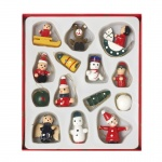 Heaven Sends Wooden Miniature Christmas Tree Decorations