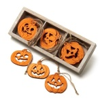 Heaven Sends 12 Assorted Halloween Pumpkin Decorations