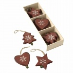 Heaven Sends Christmas Decorations - Scandi Assortment