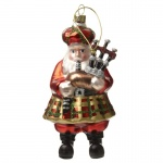 Heaven Sends Scottish Santa Christmas Tree Decoration