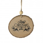 Heaven Sends Bark Merry Christmas Tree Decoration