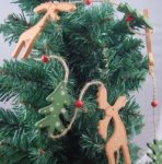 Heaven Sends Reindeer  and Tree Christmas Home  Garland