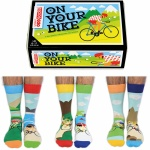 On Your Bike Novelty Socks from United Oddsocks