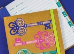 Password Notebook from Rachel Ellen Designs