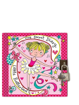 Rachel Ellen My Secret Diary Little Ballerina Locakable Diary