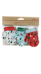 Sass And Belle Christmas Mitten Gift Tags x 15