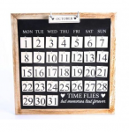 Time Flies But Memories Last Forever Calendar Board