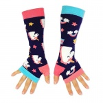 United Oddsocks Colourful Unicorn Funky Armwarmers