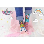 United Oddsocks Girls Novelty Unicorn Daze Socks - Size 9-12
