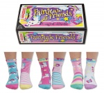 United Oddsocks - Fairytale Friends Girls Odd Socks - Size 9-12