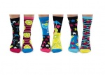 United Oddsocks Mojitoes Ladies Novelty Oddscocks