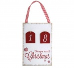 Widdop Gifts Sleep Until Christmas Countdown Plaque