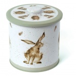 Wrendale Designs Sage Illustrated  Countryside Biscuit Barrel