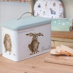 Wrendale Designs Luxurious Bread Bin - Hare Design