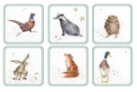 Wrendale Designs Woodland Design Assorted Coaster Set