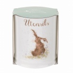 Wrendale Designs Hare Illustrated Utensils Jar