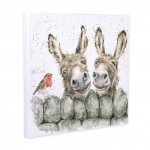 Wrendale Hee Haw Design Large Canvas